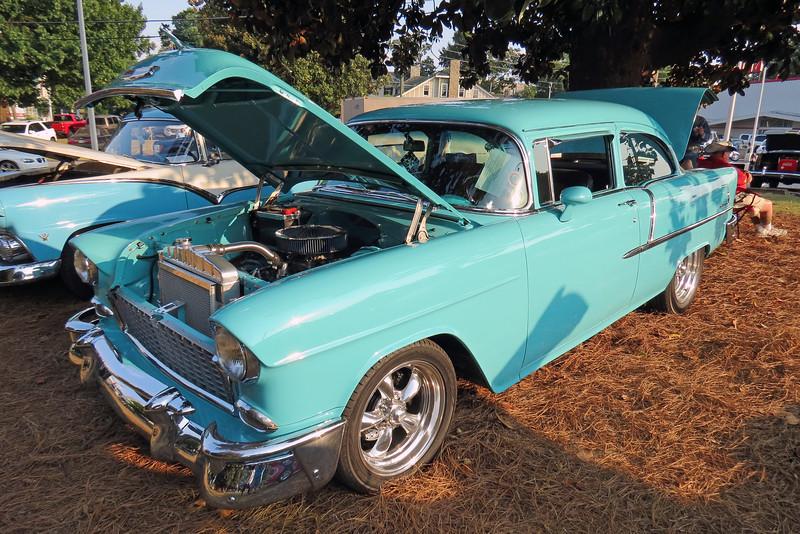 1955 Chevrolet 210 two-door sedan.