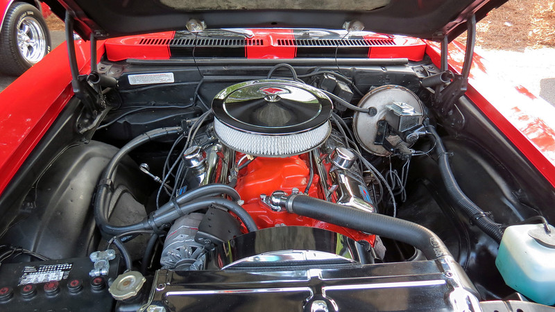 Power comes from Chevrolet's 396 CID V8 that makes either 350 hp (RPO L4), or 375 hp (RPO L75).