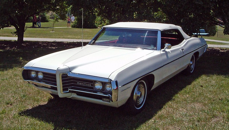 1969 Pontiac Catalina convertible, one of 5,436 made that year.