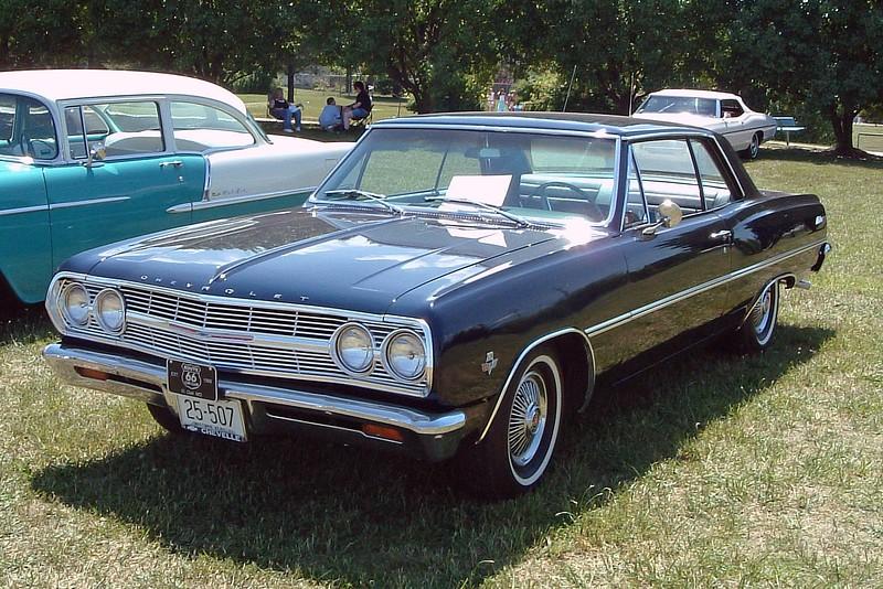 1965 Chevrolet Malibu.