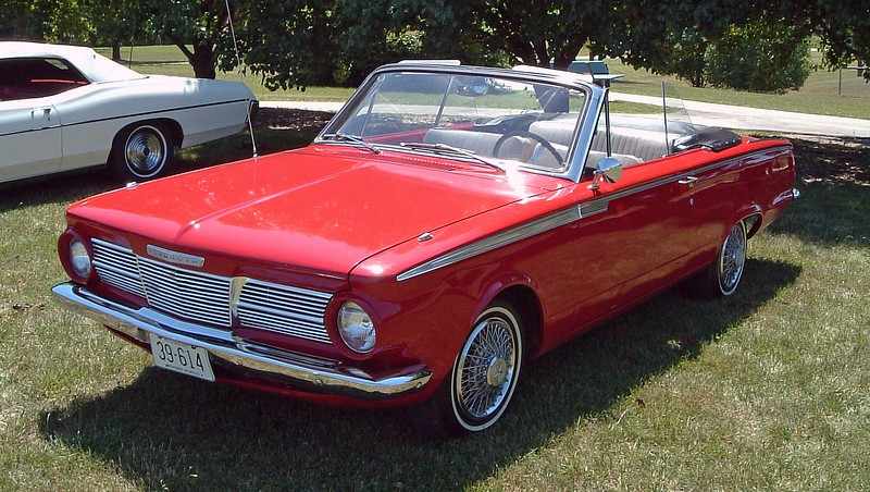 1965 Plymouth Valiant 200 convertible, one of 2,769 made that year.