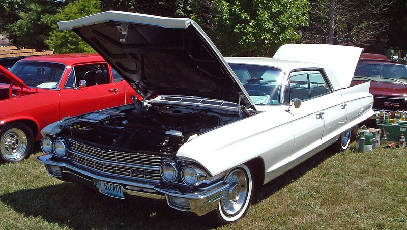 1962 Cadillac Series 62.  I'm going to call this one a 4-window sedan.
