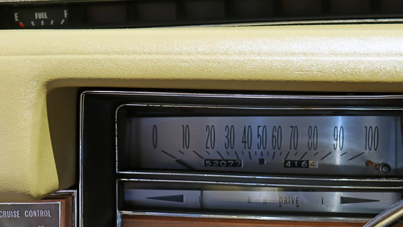 The 52k mile odometer reading was presented as original.  But there was no documentation to back that up.
