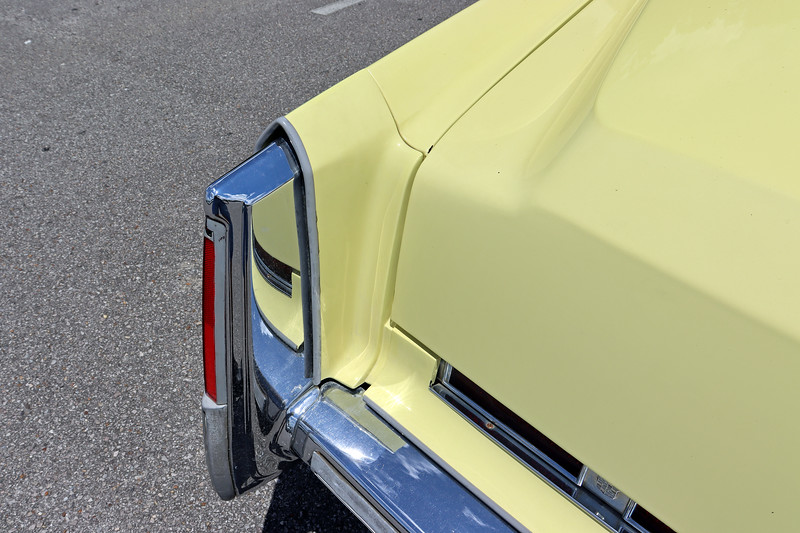 The bumper fillers, a common problem on all GM products of the era, were in great shape on this car.