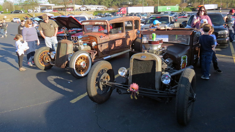 A couple of great Rat Rods.