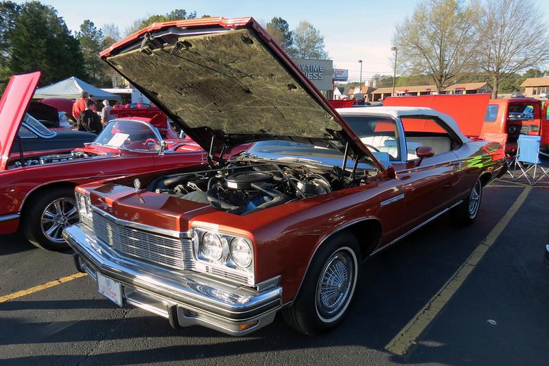 1975 Buick LeSabre Custom convertible.