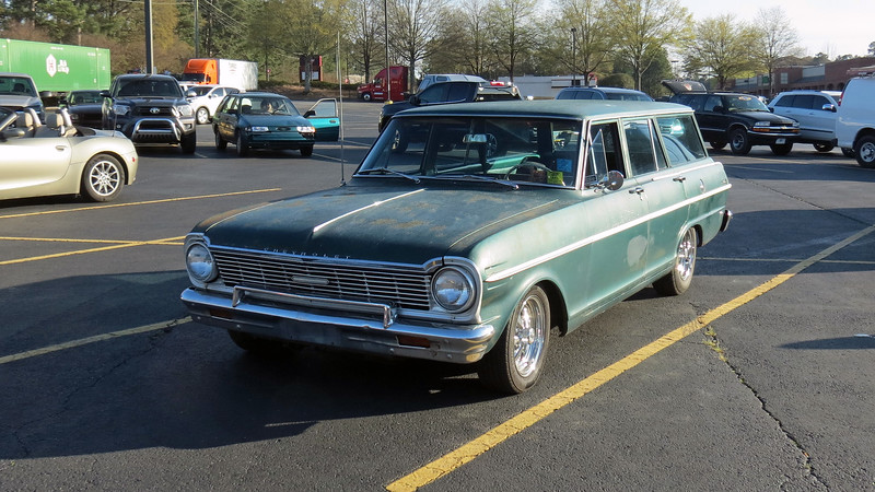 1965 Chevrolet Chevy II wagon.