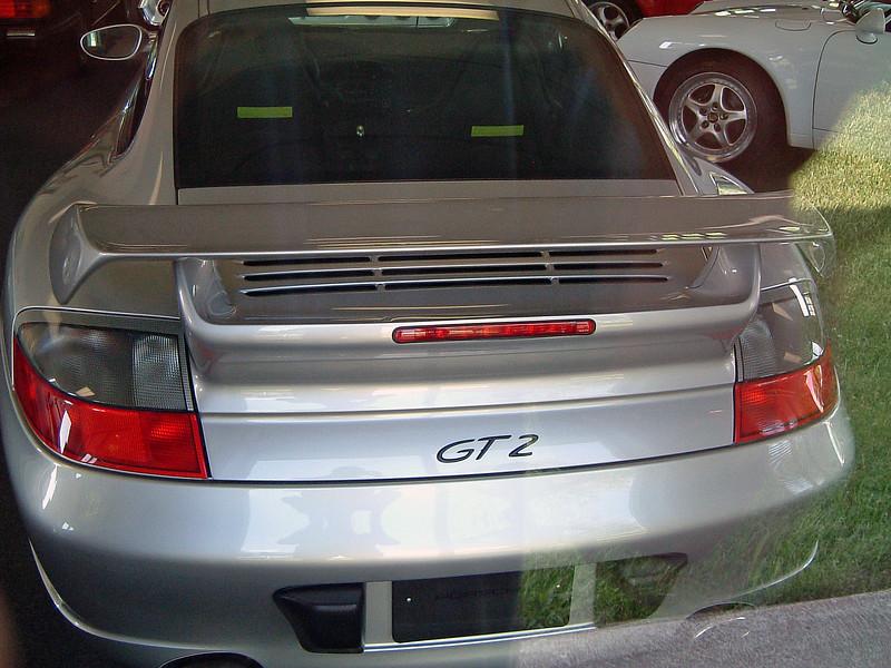 Porsche 911 GT2, 3K miles, $139,500.