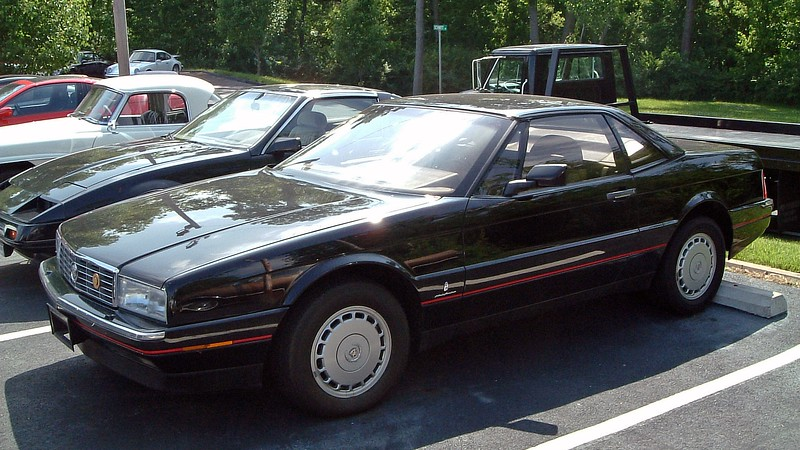 """1988 Cadillac Allante, $11,900.<br /> <br /> Cadillac introduced the Allanté in 1987 as a domestic alternative to the upscale luxury convertibles like the Mercedes SL-Class and Jaguar XJS.  But as with all new GM introductions from that era, the final product was incredibly underwhelming.  The beautiful Pininfarina body was saddled with a derivative of the troublesome and grossly underpowered HT4100 V8 and a button-happy instrument panel.  Buyers stayed away in droves.  Sales were well below expectations in 1987 and only got worse in 1988.  Surprisingly, other than the HT4100 engine, the car, itself, wasn't bad and featured a lot of options and upgrades common among luxury makes.  But it wasn't up to the level of its $56k MSRP.  By the time GM got it right and fitted the car with the 280 hp 4.6L """"Northstar"""" V8 for 2003, they pulled the plug."""