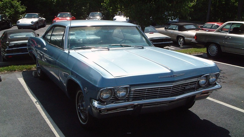 1965 Chevrolet Impala SS, $14,900.<br /> <br /> This is another example of an affordable collector car.  Big-block cars are more desirable and cost quite a bit more, (especially the extremely rare 409 cars of which only 2,828 were produced in 1965).  But this car's 327 CID V8 makes it affordable.