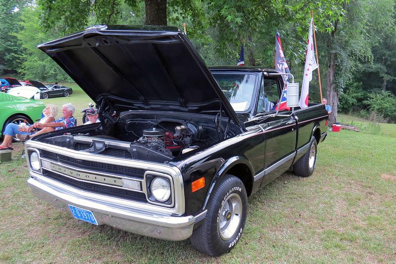 1970 Chevrolet C10 pickup.