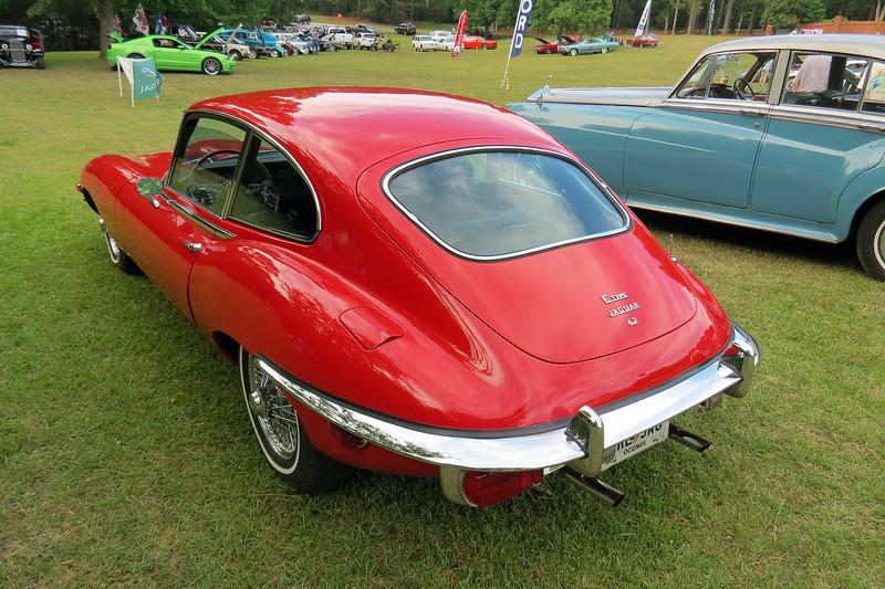 1969 Jaguar XKE.