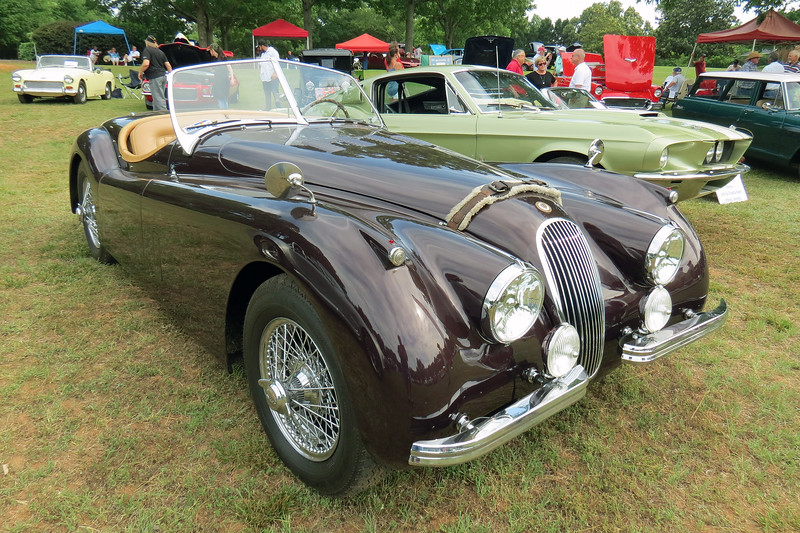 1953 Jaguar XK120 Roadster.