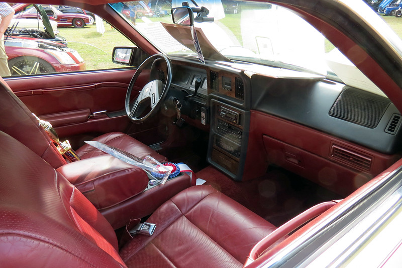 The Cougar lineage is more apparent on the stock interior.