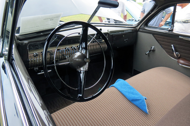 """Thanks to the film """"Rebel Without a Cause,"""" so many Mercurys from this era have been modified.  I find it quite refreshing to see a beautiful stock restoration like this one."""