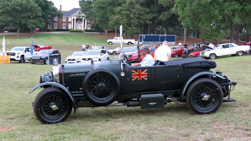 The third Best of Show award went to a 1929 Bentley 4.5 Litre.
