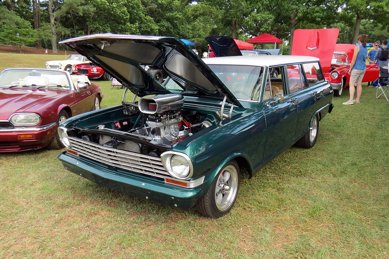 1963 Chevy II Nova wagon.