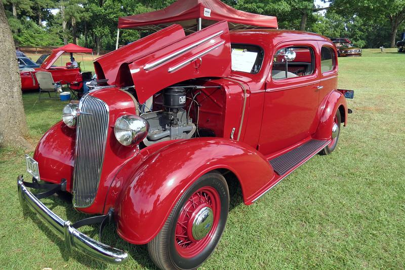 1936 Chevrolet Master town sedan.