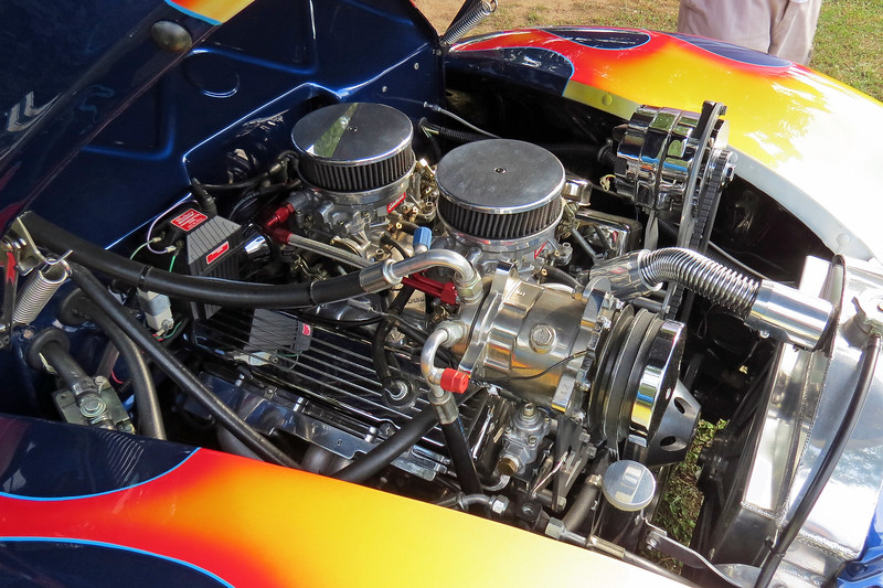 Power comes from a modified Chevrolet small block V8.