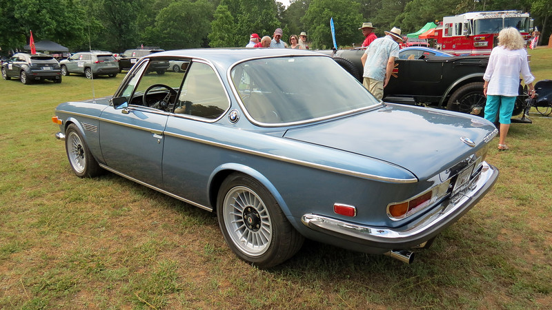 "The BMW E9 ""Shark"" was produced from 1968 - 1975 and has a tremendous following today.  BMW's 2.8L inline 6-cylinder engine that makes 168 hp was used from 1968 - 1971."
