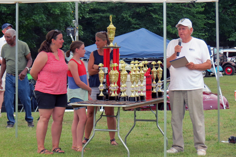 "Trophies are also awarded for several special classes such as ""Best Street Rod,"" Best Ford, etc."