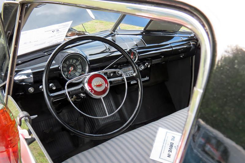1950 Ford Custom Deluxe.