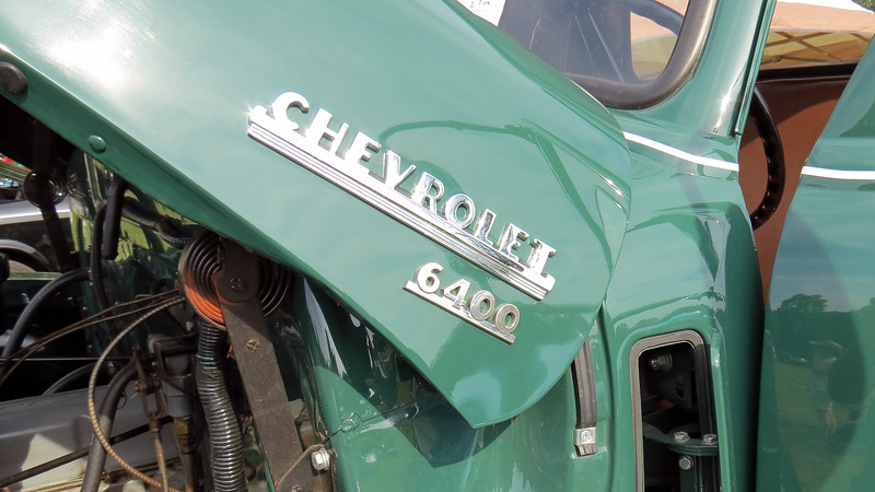The 6400 Series was part of Chevrolet's Heavy Duty range.  According to the display sign, it did not come with a bed when new which would make it a conventional cab & chassis, code 6403.