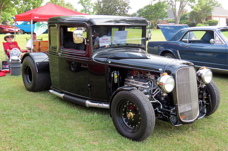 "For his efforts, the truck was selected as a ""Car of the Month"" by the Georgia Street Rod Association."