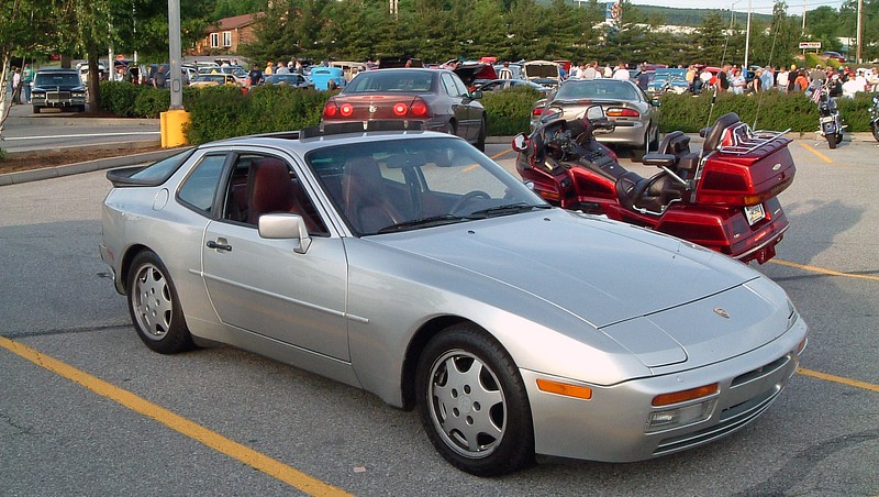 Porsche 944:  Porsche produced the 944 from 1982 - 1991.  I believe this is a 944 S2 which was introduced in 1989.