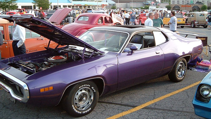 1971 Plymouth Road Runner:  This isn't a particularly rare car, (Plymouth produced 14,218 Road Runners in 1971).  But it is one of 82 Road Runners produced that year with the M51 Sunroof option.
