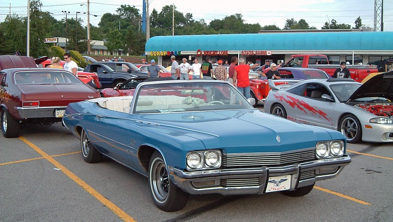 1972 Buick LeSabre convertible:  This is a rare car being one of 2,037 produced that year.