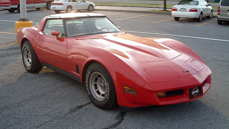 1981 Chevrolet Corvette:  The 1980 - 1982 C3 Corvette is my favorite from a styling standpoint.  I had an '81 many years ago and loved it !