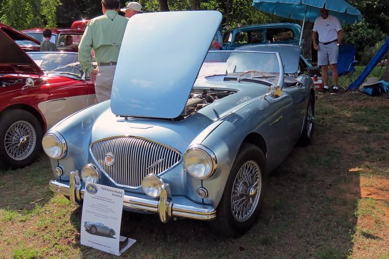 1954 Austin-Healey 100.