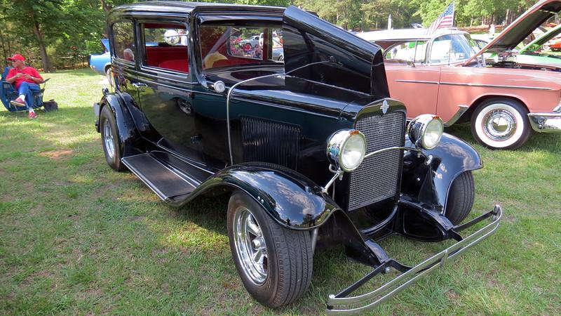 1931 Chevrolet 2-door sedan street rod.