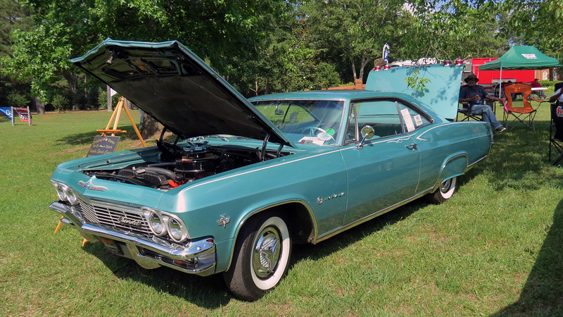 1965 Chevrolet Impala Sport Coupe.