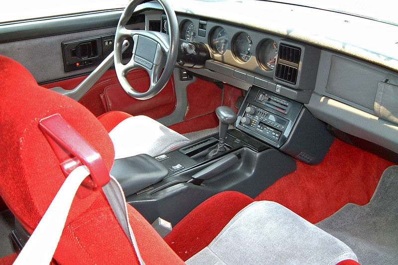 This car was equipped with the base 5.0L TBI V8.  I had a 1988 Firebird Formula years before with this same 170 hp engine and can safely say that it was a beautiful car that couldn't get out of its own way.  This car featured 41k original miles and a very unusual interior color combination.