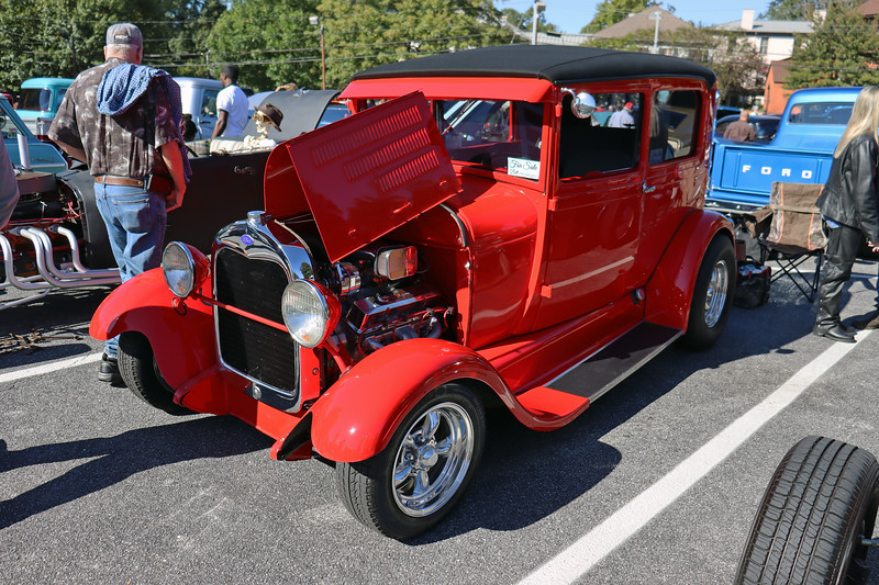Ford Model A street rod.