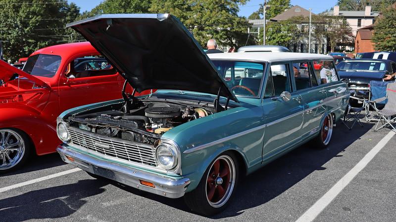 1965 Chevrolet Chevy II Nova 400 wagon.