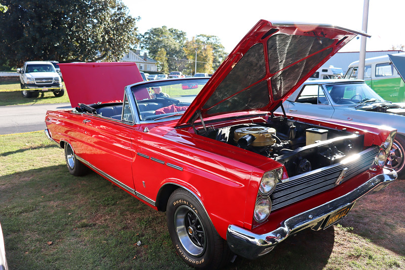 1965 Mercury Comet Caliente convertible, 1 of 6,035 produced that year.