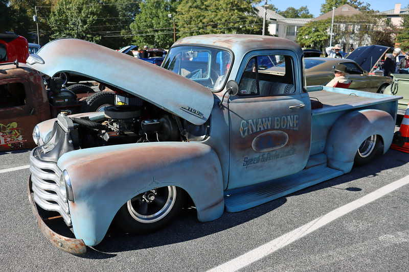 Modified Chevrolet 3100 Series pickup.