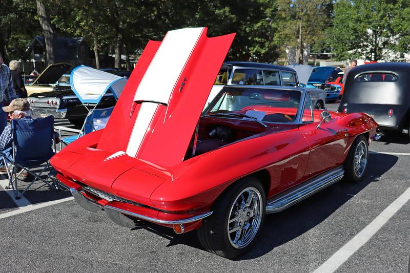1967 Chevrolet Corvette.