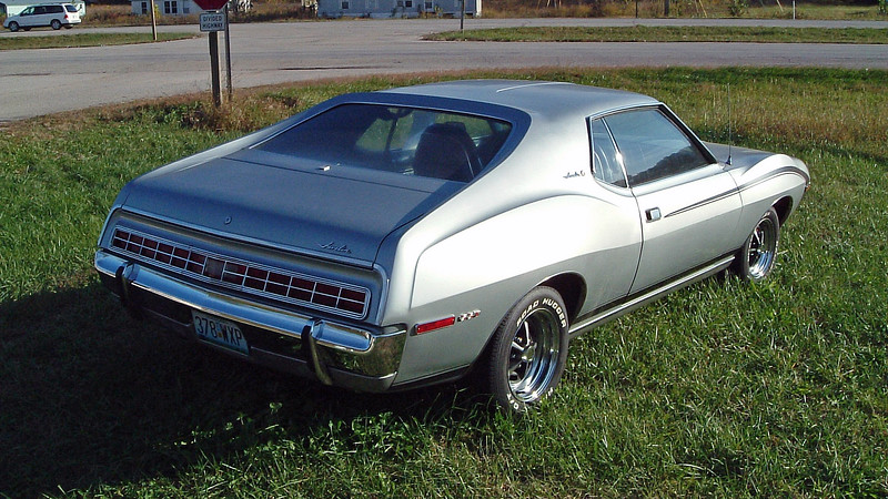 AMC made 23,455 Javelin SSTs in 1972 making this car somewhat rare.