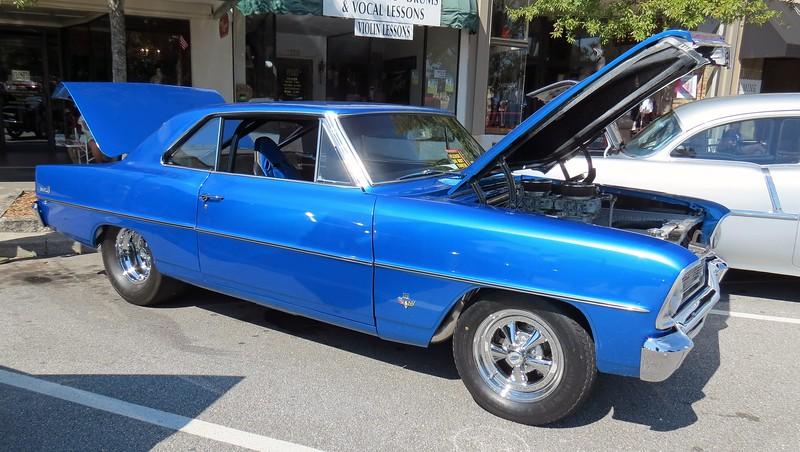 Modified 1966 Chevrolet Nova.
