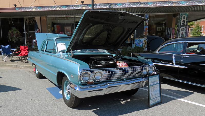 1963 Chevrolet Biscayne.