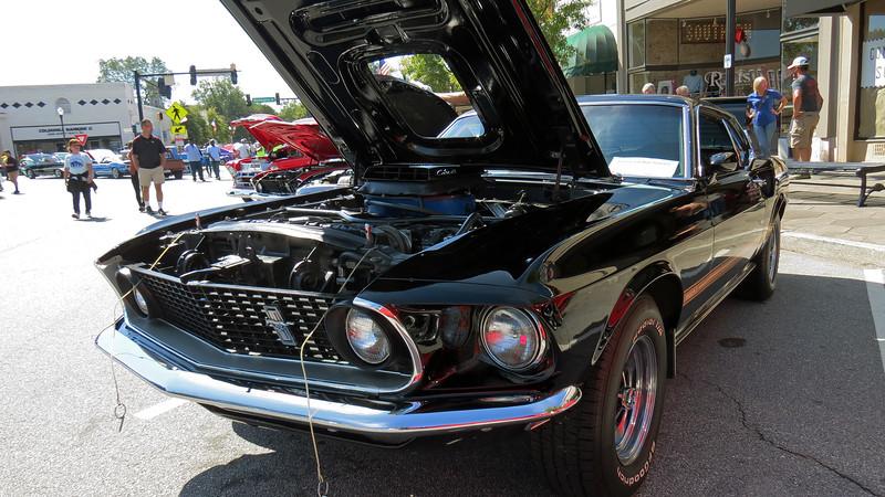A beautiful 1969 Ford Mustang Mach I, 428 CJ.