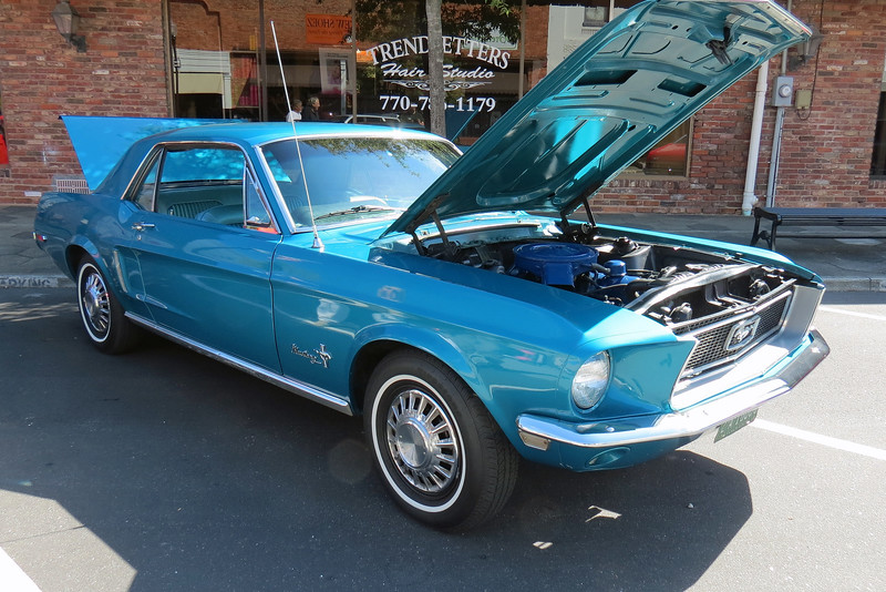 1968 Ford Mustang.