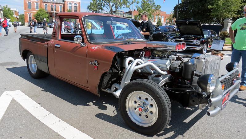 Chevy Luv rat rod.