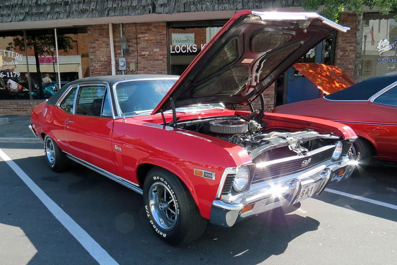 1969 Chevrolet Nova SS396.