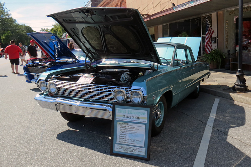 A beautiful 1963 Chevrolet Biscayne 409.