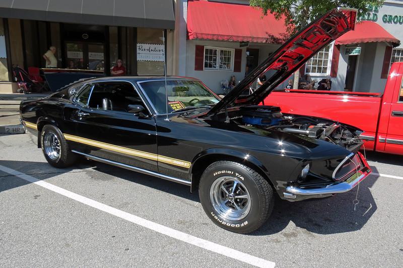 1969 Ford Mustang Mach I, 428 CJ.